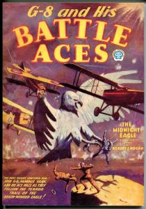 G-8 & His Battle Aces #4 1/1934-Adventure House reprint-2002-Hogan-pulp-VF/NM