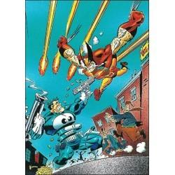 1992 Wolverine: From Then 'Til Now: Series 2 CHANGE #2
