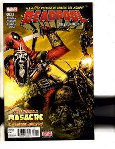 Deadpool # 3.1 NM 1st Print Spanish Language Variant Marvel Comic Book  MK2