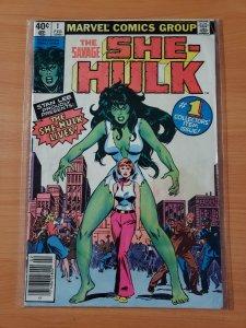The Savage She-Hulk #1 (1980) FIRST APPEARANCE SHE-HULK! NEWSSTAND EDITION!