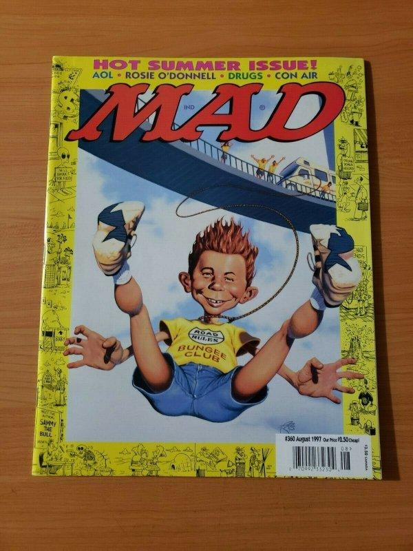 Mad Magazine #360 ~ NEAR MINT NM ~ August 1997