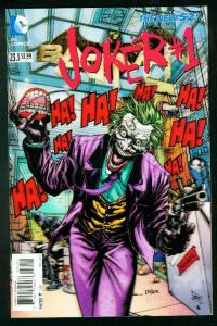 BATMAN #23.13-D JOKER LENTICULAR COVER 2013 NEW 52 HIGH GRADE
