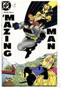 'Mazing Man #12 1986-Carrie Kelly cover-Batman-DC comic book