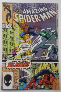 Amazing Spider-Man 272 | 1st Appearance of Slyde | High Grade | 1986 | Marvel