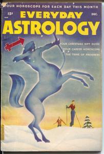 Everyday Astrology 12/1947-Better Pubs-Alex Schomburg cover & interior art-VG