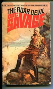 DOC SAVAGE-THE ROAR DEVIL-#88-ROBESON-G-BORIS VALLEJO-1ST EDITION G