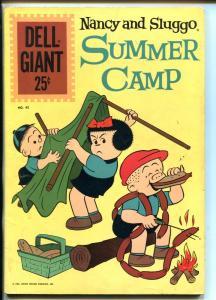 NANCY AND SLUGGO SUMMER CAMP  #45-1961-DELL-COMICS-PUZZLES-GAMES-fn