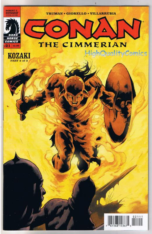 CONAN the CIMMERIAN #21, NM, Cary Nord, Tim Truman, 2008, Robert E Howard