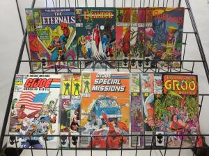 Marvel Bronze/Copper Age Starter Collection SWB #AM1 47 diff titles, 170+ Comics