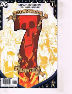 Lot Of 2 DC Comics Book Soldiers of Victory #1 and Kingdom Come Special #1   ON1