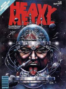 Heavy Metal #25 FN; Metal Mammoth   save on shipping - details inside