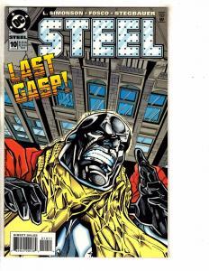 10 Steel DC Comic Books # 10 11 12 13 14 15 16 17 18 19 Superman Batman PP13