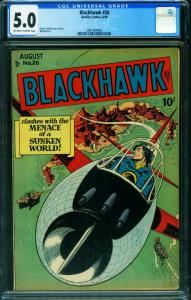 Blackhawk #26 CGG 5.0 1949- Golden-Age comic book 2001004002