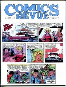 Comics Revue #169 2000-Kirby & Wood-Sky Masters-Phantom-Modesty Blaise-Tarzan-VF
