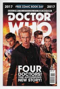 FCBD Doctor Who Four Doctors #1 (Titan, 2017) NM