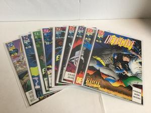 Detective Comics 640 641 642 643 644 645 646 649 650 Lot Near Mint- DC A13