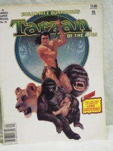 Tarzan of the Apes Marvel Super Special #29 VF 1983