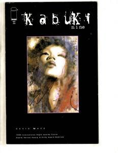 Kabuki # 9 VF Signed On Cover By David Mack Comic Book Image J306