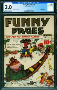 Funny Pages Vol.2 #2 CGC 3.0 1937 Dick Ryan-Super rare comic 2109537002