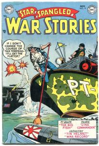 Star Spangled Was Stories #15 1953- DC Silver Age War- PT Boat cover