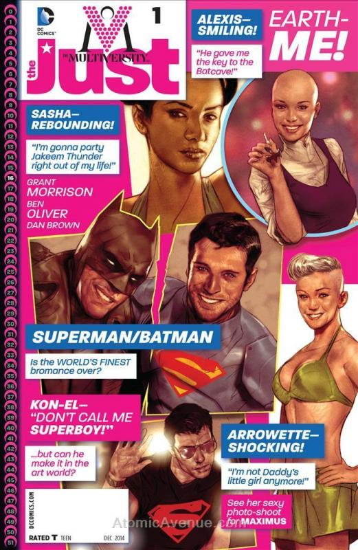 Multiversity, The: The Just #1 VF/NM; DC | save on shipping - details inside