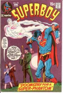 SUPERBOY 175 F+ NEAL ADAMS COVER   June 1971 COMICS BOOK