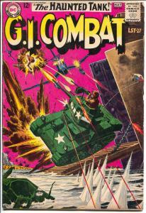 G.I. Combat #99 1963-DC-Haunted Tank-Joe Kubert-Russ Heath-VG+