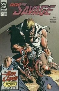 Doc Savage (1988 series) #21, NM- (Stock photo)