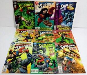 Superboy Comic Lot of (9)