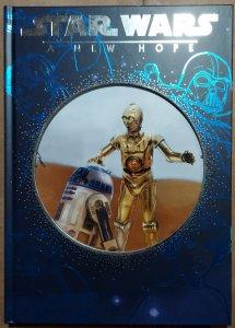 Star Wars A New Hope Hard Cover book NM