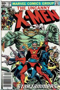 X-Men #156, 8.0 or better