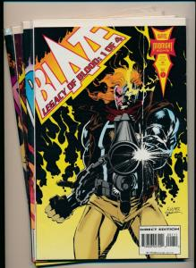 Marvel BLAZE Legacy of Blood Mini-series #1-4  FINE/VERY FINE (PF588)