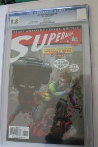 All-Star Superman #4 (DC, 2006) CGC NM/MT 9.8 White pages