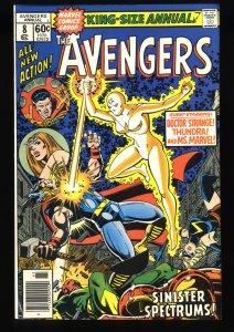 Avengers Annual #8 NM- 9.2