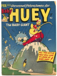 Baby Huey #1 1955- CASPER- Little Audrey- Australian comic VG