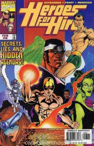 HEROES FOR HIRE (1997 MARVEL) #8 NM