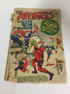 Avengers 6 Coverless Marvel Comics Silver Age