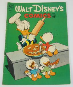 Walt Disney's Comics and Stories #134 VG+ 1st appearance of the beagle boys 1951