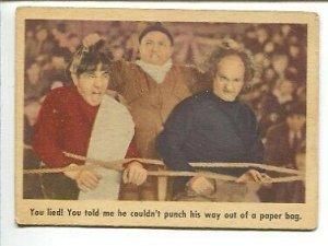 Three Stooges Original Trading Card #9 1959-Fleer