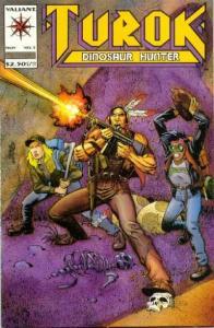 Turok: Dinosaur Hunter (1993 series) #5, NM- (Stock photo)