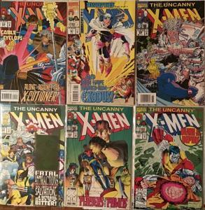 UNCANNY X-MEN MARVEL 6 BOOK #311,312,,316,317,319,320 NM CONDITION