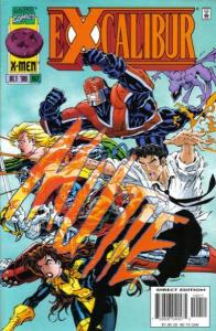 Excalibur (1988 series) #102, NM- (Stock photo)
