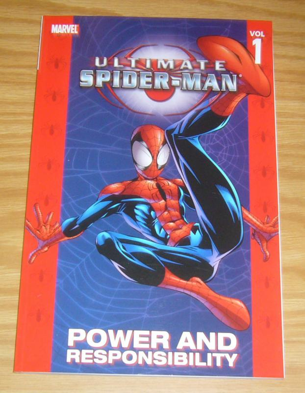 Ultimate Spider-Man TPB 1 VF/NM power and responsibility - second edition - 2nd