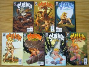Shanna the She-Devil vol. 2 #1-7 VF/NM complete series - frank cho - jungle girl