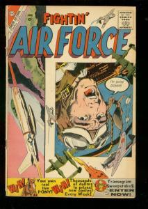 FIGHTIN' AIR FORCE #21 1960-CHARLTON WAR COMICS G