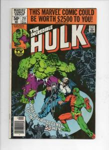 HULK #251, FN/VF, Incredible, Bruce Banner, 3-D Man, 1968 1980, Marvel, UPC