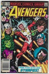 Avengers   vol. 1   #232 VG