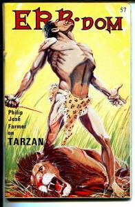 ERB-Dom  #57 1972-Edgar Rice Burroughs fanzine-Tarzan-John Carter-FN