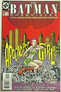 BATMAN CHRONICLES#21 NM 2000 BRIAN BENDIS STORY DC COMICS