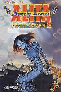 Battle Angel Alita Part 7 #1 VF; Viz | save on shipping - details inside